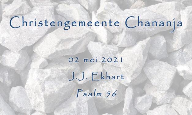 02-05-2021 – J.J. Ekhart – Psalm 56
