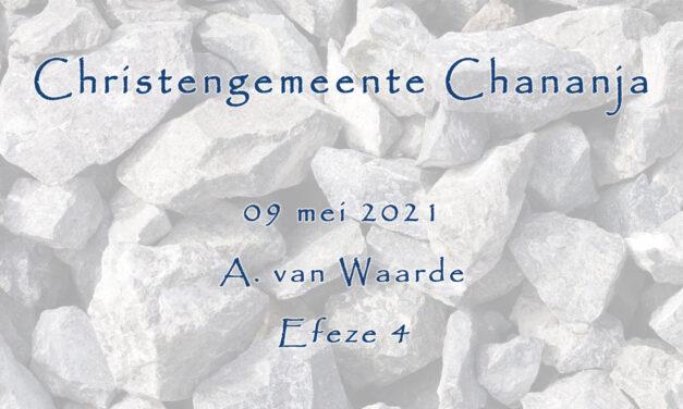 09-05-2021 – A. van Waarde – Efeze 4