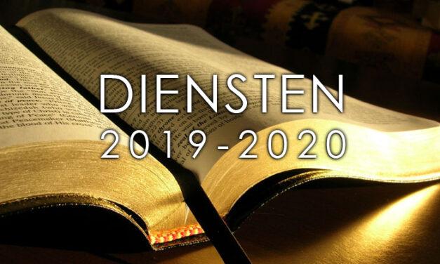 Diensten 2019-2020