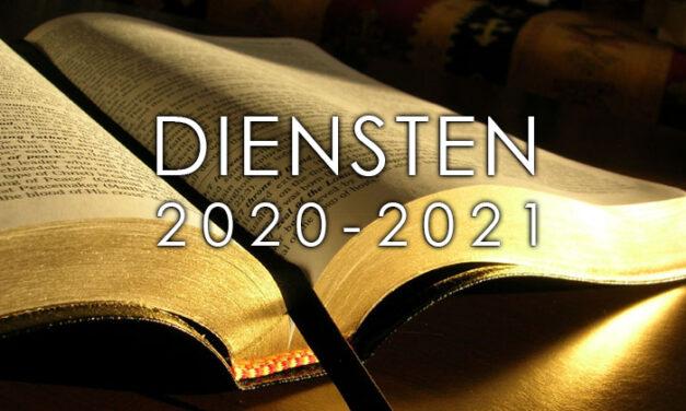 Diensten 2020-2021